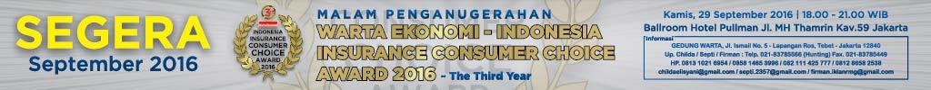 Indonesia Insurance Consumer Choice Award 2016